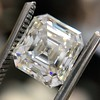 2.89ct Antique   Asscher Cut Diamond GIA I VS2 10