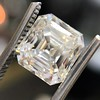2.89ct Antique   Asscher Cut Diamond GIA I VS2 2