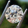 2.90ct Old European Cut Diamond GIA I VS1 0
