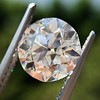 2.90ct Old European Cut Diamond GIA I VS1 6