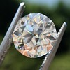 2.90ct Old European Cut Diamond GIA I VS1 7