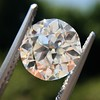 2.90ct Old European Cut Diamond GIA I VS1 3