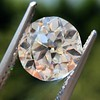 2.90ct Old European Cut Diamond GIA I VS1 5