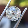 2.99ct Old Mine Cut Diamond GIA K SI1 8