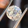 2.99ct Old Mine Cut Diamond GIA K SI1 4