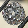 3.00ct Antique Cushion Cut Diamond, GIA J VS2 0