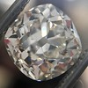 3.00ct Antique Cushion Cut Diamond, GIA J VS2 1
