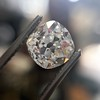 3.00ct Antique Cushion Cut Diamond, GIA J VS2 3
