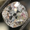 3.00ct Antique Cushion Cut Diamond, GIA J VS2 5