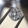 3.00ct Antique Cushion Cut Diamond, GIA J VS2 11