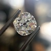 3.00ct Antique Cushion Cut Diamond, GIA J VS2 4