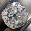 3.00ct Antique Cushion Cut Diamond, GIA J VS2 2