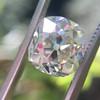 3.01ct Antique cushion Cut Diamond Est S/T Color, VS2 Clarity 1