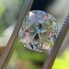 3.01ct Antique cushion Cut Diamond Est S/T Color, VS2 Clarity 2