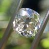 3.01ct Antique cushion Cut Diamond Est S/T Color, VS2 Clarity 20
