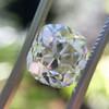 3.01ct Antique cushion Cut Diamond Est S/T Color, VS2 Clarity 13