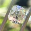3.01ct Antique cushion Cut Diamond Est S/T Color, VS2 Clarity 5