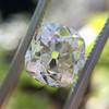 3.01ct Antique cushion Cut Diamond Est S/T Color, VS2 Clarity 9