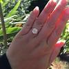 3.01ct Antique cushion Cut Diamond Est S/T Color, VS2 Clarity 27