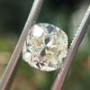 3.01ct Antique cushion Cut Diamond Est S/T Color, VS2 Clarity 12
