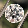 3.01ct Old European Cut Diamond GIA G SI1 4