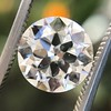 3.01ct Old European Cut Diamond GIA G SI1 8