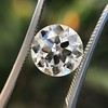 3.01ct Old European Cut Diamond GIA G SI1 7