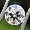 3.01ct Old European Cut Diamond GIA G SI1 5