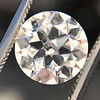 3.01ct Old European Cut Diamond GIA G SI1 14