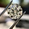 3.02ct Old European Cut Diamond, GIA Q/R VS1 7