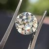 3.02ct Old European Cut Diamond, GIA Q/R VS1 48
