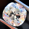 3.04 Antique Cushion Cut Diamond GIA H VS2 0