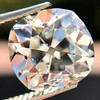 3.04 Antique Cushion Cut Diamond GIA H VS2 2