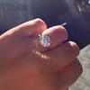 3.04ct transitional cut diamond GIA L VVS1 13