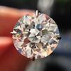 3.04ct transitional cut diamond GIA L VVS1 8
