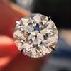 3.04ct transitional cut diamond GIA L VVS1 12