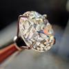 3.04ct transitional cut diamond GIA L VVS1 3
