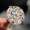 3.04ct transitional cut diamond GIA L VVS1 9