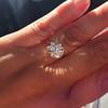 3.04ct transitional cut diamond GIA L VVS1 14