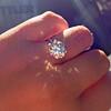 3.04ct transitional cut diamond GIA L VVS1 4