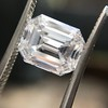 3.09ct Emerald Cut diamond GIA F VS1 12