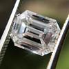3.09ct Emerald Cut diamond GIA F VS1 8