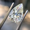 3.12ct Antique Pear Shaped Diamond GIA L VS1 15