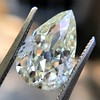 3.12ct Antique Pear Shaped Diamond GIA L VS1 2