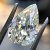 3.12ct Antique Pear Shaped Diamond GIA L VS1 6
