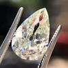 3.12ct Antique Pear Shaped Diamond GIA L VS1 1
