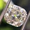 3.20ct Antique Cushion Cut Diamond 15