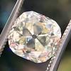 3.20ct Antique Cushion Cut Diamond 1