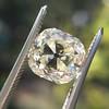 3.20ct Antique Cushion Cut Diamond 28