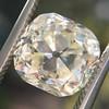3.20ct Antique Cushion Cut Diamond 19